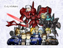 Chibi Projects by CGVickers