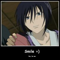 Akito - Smile for the camera by Elsaaaa