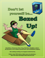 Don't let yourself be BOXED UP by Kecky