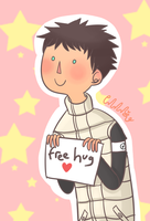 CR : AT - Monmon Free Hug by mellamelfran