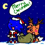 Sonic and Tails wish you a.... by Umbra-Flower