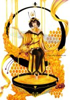 Honey Bee - Dame du Miel by Clange-kaze