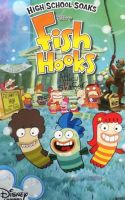 Fish Hooks Poster by Chrismilesprower