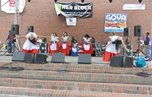 Puerto Rican/Latin Fest, Flowing Dress and Dance 2 by Miss-Tbones