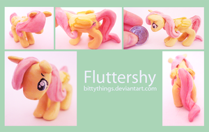 Fluttershy - Gift by Bittythings