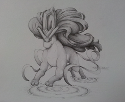 Suicune by Valodeon