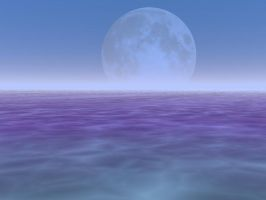 Stock Background - Purple Moon by Stock-by-Kai