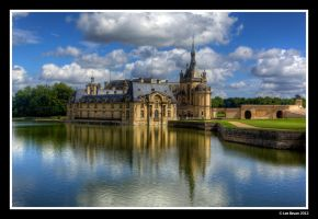 Chantilly Racecourse by Leeby
