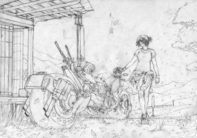 Preparing for a Journey Sketch by sXeven