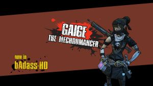 Gaige in HD - Borderlands 2 by green4gfx