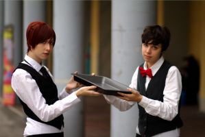 Cosplay - Waiters by Didi-hime