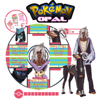 Pokemon Opal App: Cian by jellyflavoured
