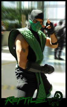 Reptile by DANQUISH