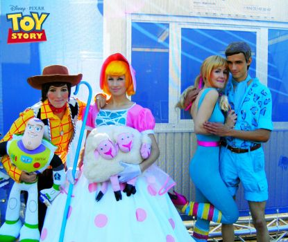 Toy Story Cosplay 4 Group by Murdoc-lein