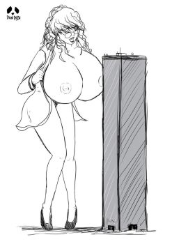 Amanda in Chic Couture (Sketch by Pandoza) by Foule