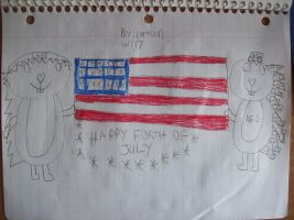 Happy Forth of July by CARTOONGUY17