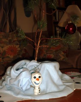 A Charlie Brown Olaf by Lily-Hith-Silme