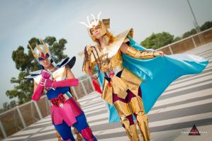 Shaka and Ikki by Ivycosplay