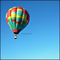 hot air balloon by inahque