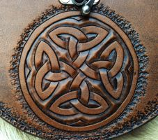 Celtic Knotwork - Tooling Detail 2 by SonsOfPlunderLeather