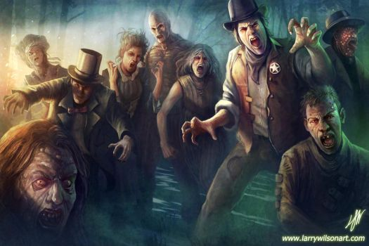 DOOMTOWN - Plauge Zombies by LarryWilson