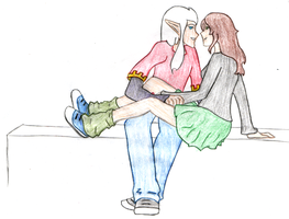 P and M - Just Hanging Out by Tatriana