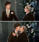 Sherlock BBC - So kiss me by maXKennedy