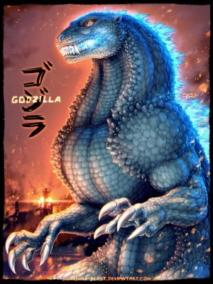 Godzilla - King of the Monsters by Guardian-Beast