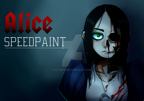 Alice [Speedpaint] by By-Set