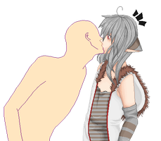: OPEN COLLAB : suprise kiss : by sonxfanchara