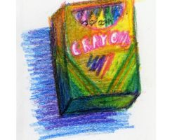 Crayons by Cymbeline