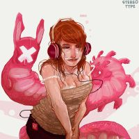 Stereo Type 02 by Fealasy