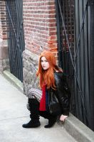 Amy Pond -Waiting and Ready... by moonflower-lights