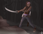 Michonne by Sparky-corpsee