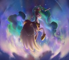 Princess Celestia by mlp-inspiration