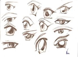 Eyes ... by Indrootea