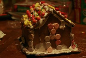 Ginger Bread House by VioletBreezeStock