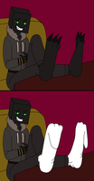 Andy the Enderman by gameboysage