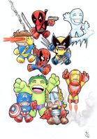 Mini Marvels ! by Hamdoggz