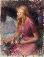 An Aura of Fragrances by Bryce C. Liston OPA by OilPaintersofAmerica