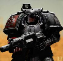 Pre Heresy Iron Hands Clan Brannsar by Ilqar