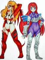 Sisters of Battle by TrueRageXRT