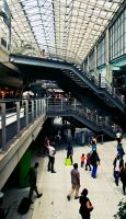 Gare Du Nord by Kamal-Q
