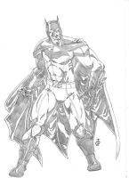 DC New Universe BATMAN by JeanSinclairArts