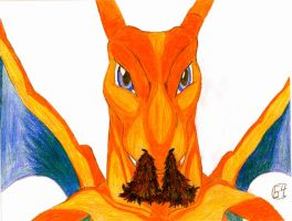 Charlie the Charizard by Elc54
