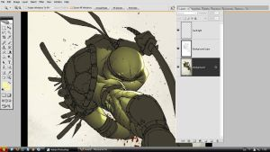 TMNT.oldWIP. with layers. by MarteGracia