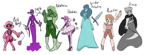 Gem oc's adopts by lisianthus-rose