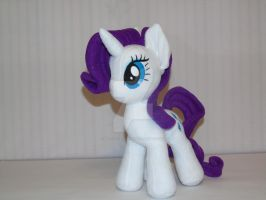 Pony Rarity plush. by My-Little-Plush