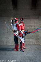 Forever Shinkenred! by AndreaStarchild