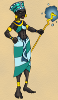 The Water Queen of Akheti by BrandonSPilcher